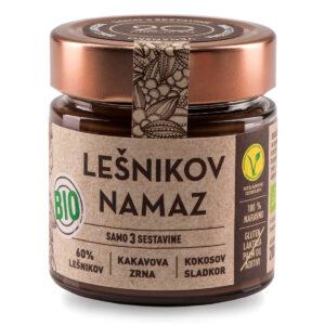 20 Chocolate Bio Lešnikov namaz