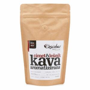 Escobar aromatizirana kava Cimet in lešnik