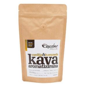 Escobar aromatizirana kava Vanilija in karamela