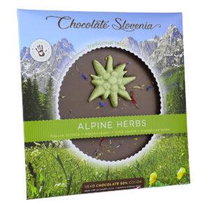 Chocolate Slovenia Alpska zelišča