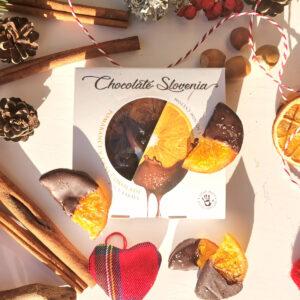 Carniola - Pomaranče v črni čokoladi