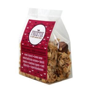 Fruštek - domača granola LEŠNIKI in BRUSNICE (mini)
