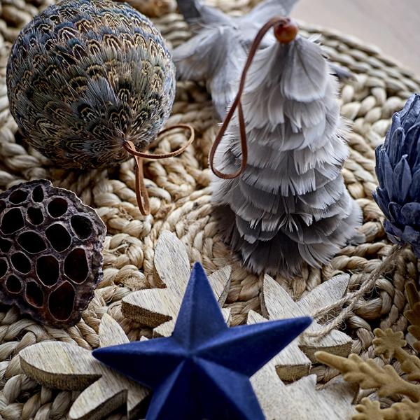 Bloomingville - Božični okrasek (bel)